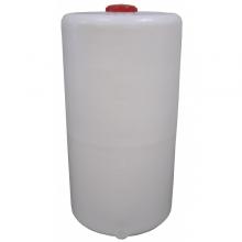 Cylindrisk sluten behållare med skruvlock